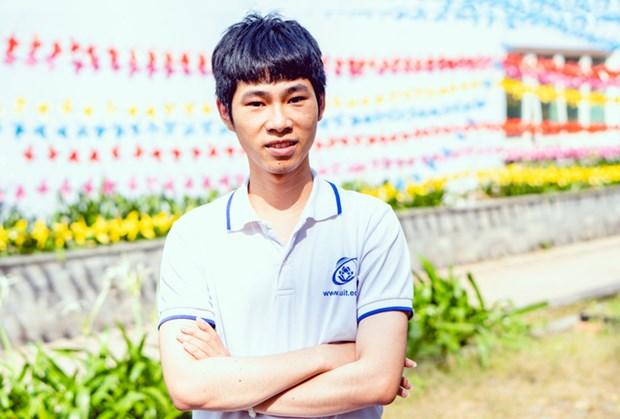 一名越南大学生在国际微电子奥林匹克竞赛上获佳奖 hinh anh 1