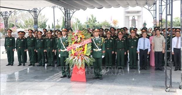 广治省举行9号公路-南寮战役胜利50周年纪念活动 hinh anh 1
