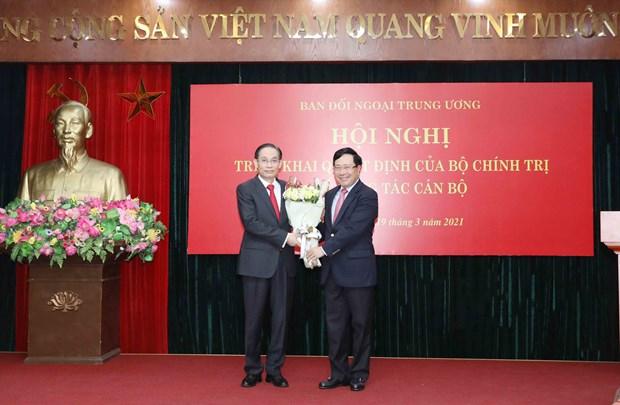 黎怀忠同志被任命为越共中央对外部部长 hinh anh 1