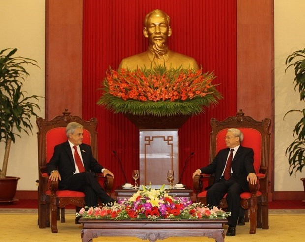 越南与智利建交50周年:维护两国良好的传统友好合作关系 hinh anh 2