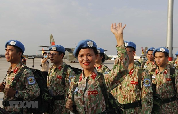 第三号二级野战医院:自信能出色完成在南苏丹的任务 hinh anh 1