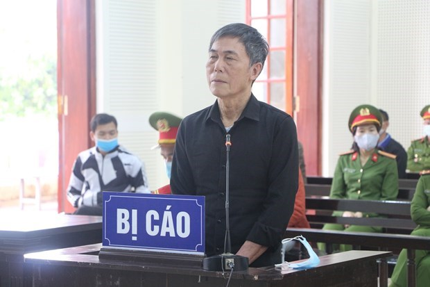 陈德石煽动颠覆人民政府罪案件二审宣判 维持一审有期徒刑12年的判决 hinh anh 1