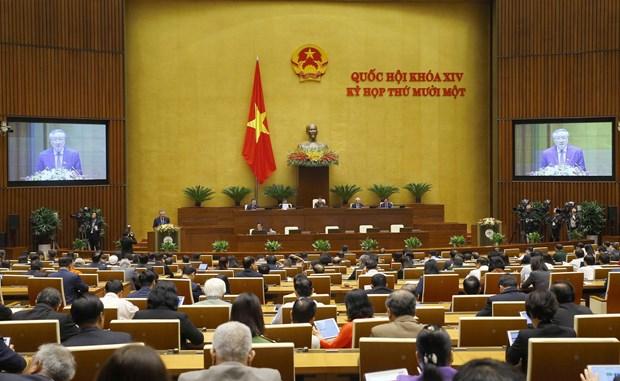 第十四届国会第十一次会议:满足预防、打击犯罪和及时解决争端的要求 hinh anh 2