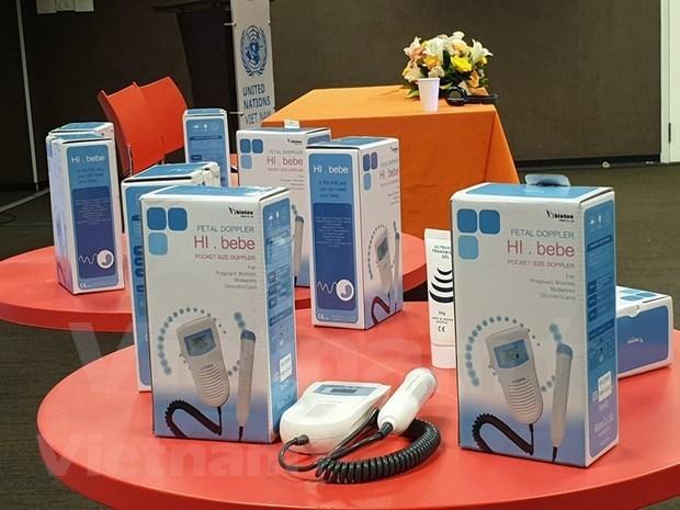 联合国人口基金向越南提供医疗设备 hinh anh 1