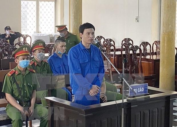 安江省人民法院以非法运输毒品罪对两人判处死刑 hinh anh 2