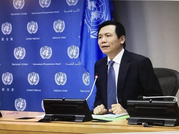 越南与联合国安理会:越南第二次担任联合国安理会轮值主席 hinh anh 1