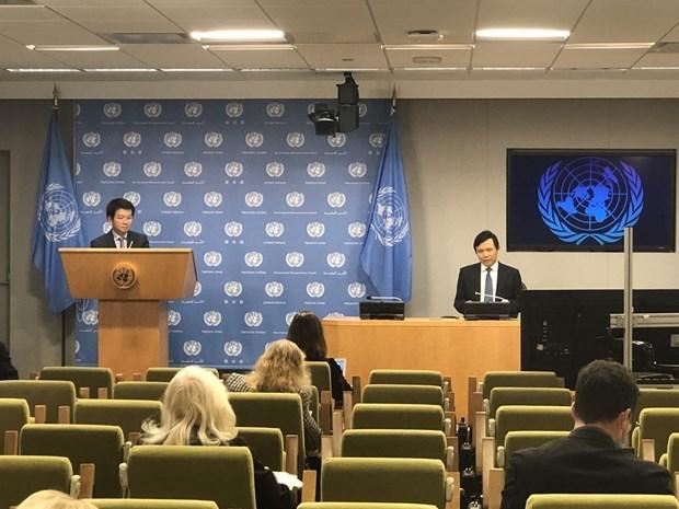 越南与联合国安理会:越南第二次担任联合国安理会轮值主席 hinh anh 2