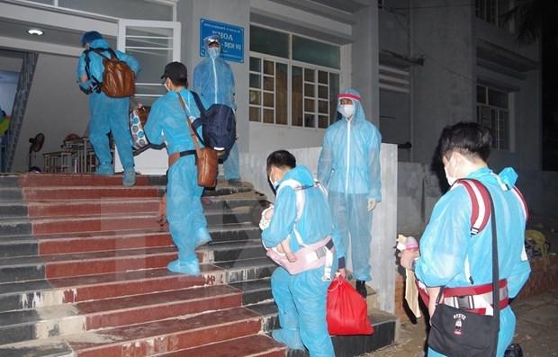 4日上午越南新增3例输入性病例 全国新冠疫苗接种人数52335人 hinh anh 1