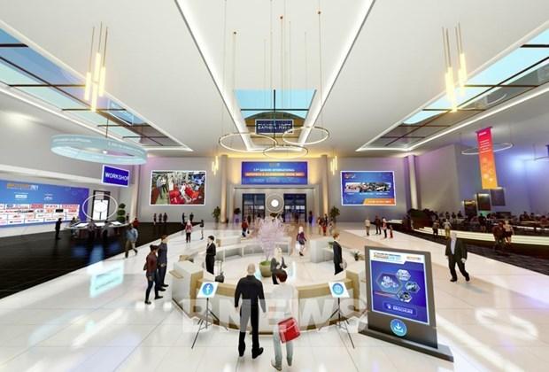 2021年第17届越南国际汽摩及电动车、自行车展览会共设300多间展位 hinh anh 1