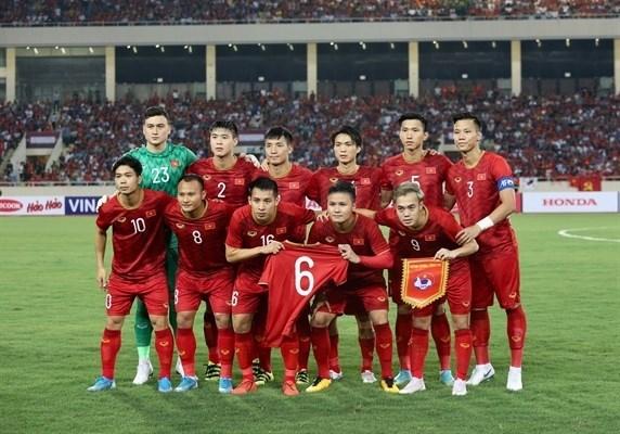 FIFA排名:越南国足保持东南亚地区的领先地位 hinh anh 1