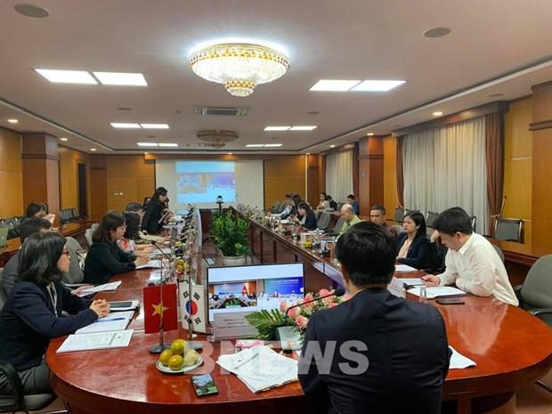 越南与韩国加强分销和物流的经验交流 hinh anh 1