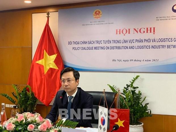 越南与韩国加强分销和物流的经验交流 hinh anh 2