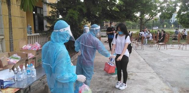 新冠肺炎疫情:9日上午越南新增1例输入性病例 hinh anh 1