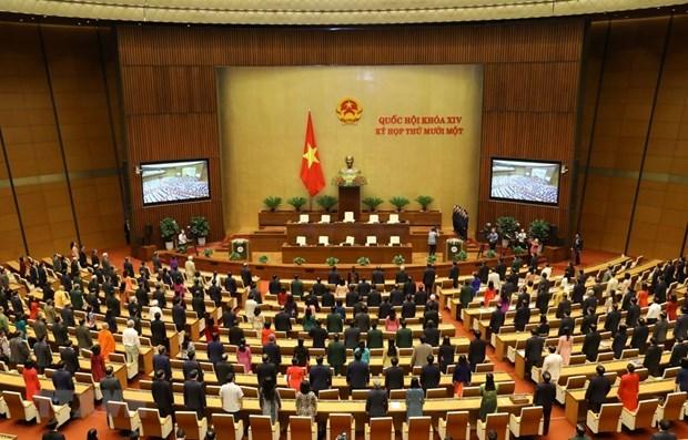越南第十四届国会第十一次会议圆满落下帷幕 hinh anh 1