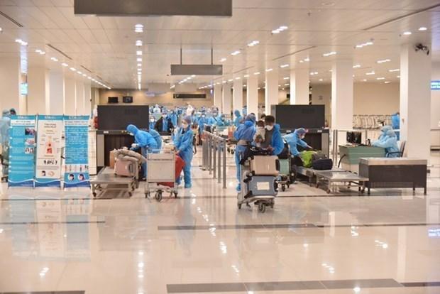 12日上午越南新增境外输入病例3例 hinh anh 1