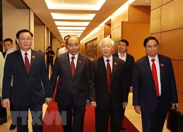 越南驻意大利都灵名誉领事深信越南新领导班子将继承前任领导的长处与优点 hinh anh 1