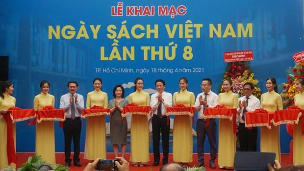 第八次越南图书日活动开幕:传播书香文化 hinh anh 1