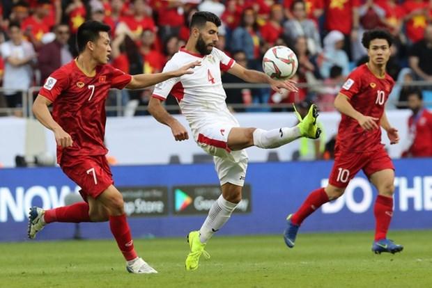 越南国家足球队将与约旦队进行友谊赛 hinh anh 1