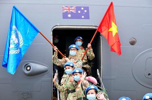 越南二号二级野战医院完成国际使命 hinh anh 2