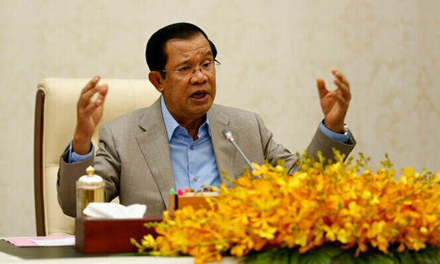 柬埔寨首相洪森将出席在雅加达举行的东盟领导人会议 hinh anh 1