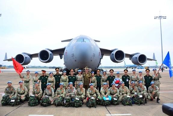 越南二号二级野战医院完成国际使命 hinh anh 1