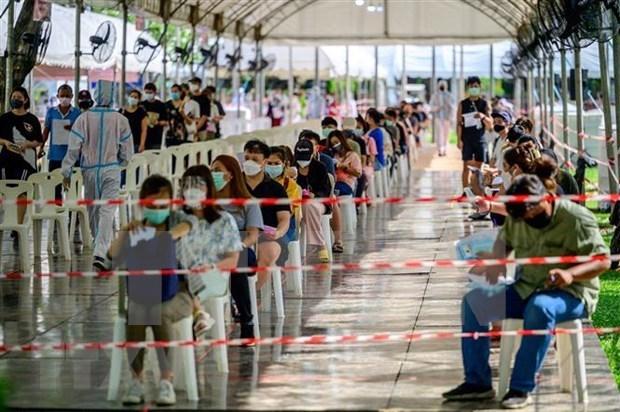 泰国单日新增新死亡病例创新高 新加坡11名外籍劳工确诊感染新冠病毒 hinh anh 1