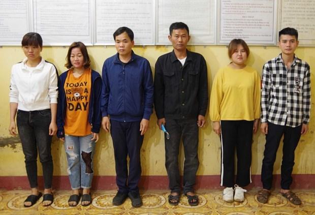 高平省对一起组织非法出境案进行起诉 坚江省发现4名非法入境人员 hinh anh 1