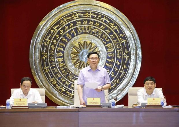 国会主席王廷惠:进一步发挥文化教育和青少年儿童委员会的作用 hinh anh 1