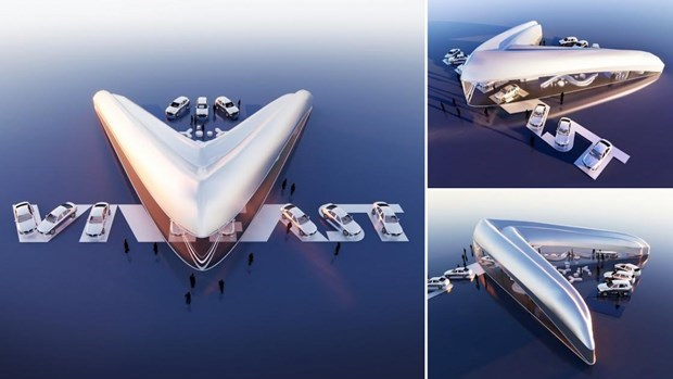 2021年VINFAST全球展厅设计竞赛获奖者揭晓 hinh anh 1