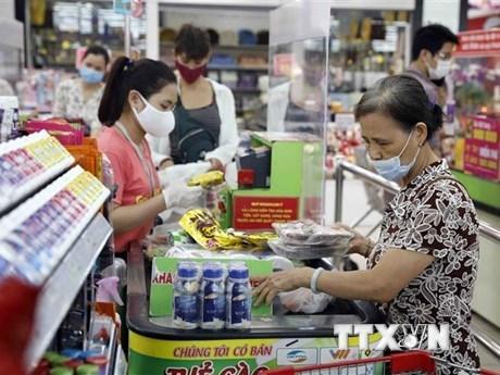 2021年4月份越南全国居民消费价格指数下降0.04% hinh anh 1