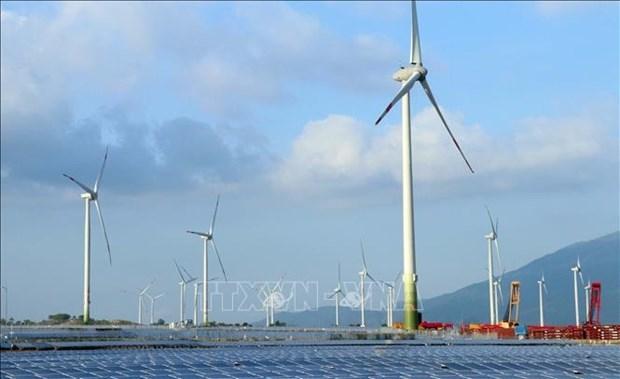 外国专家对越南的可再生能源转移进程表示印象深刻 hinh anh 1