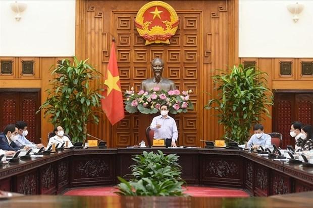 政府总理范明政:国家发展的重要内在资源之一就是越南人的价值 hinh anh 1