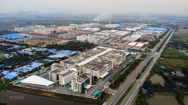 今年前4月越南外资项目实际到位资金同比增长6.8% hinh anh 1