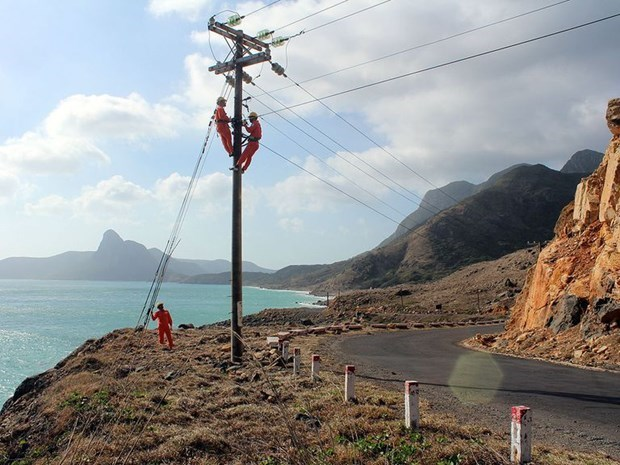 越南拟建从朔庄省至巴地头顿省昆岛的海底电缆输电工程 hinh anh 1
