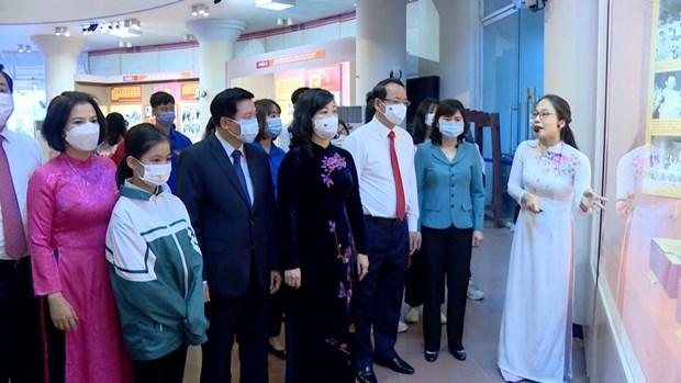 喜迎首次国会普选75周年专题展在北宁省举行 hinh anh 1