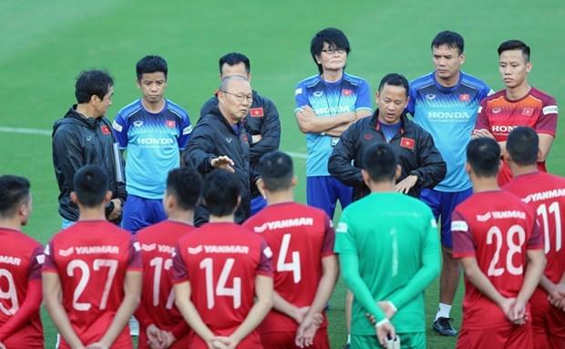 2022年世界杯亚洲区预选赛:主教练朴恒绪召集37名球员参加集训 hinh anh 1