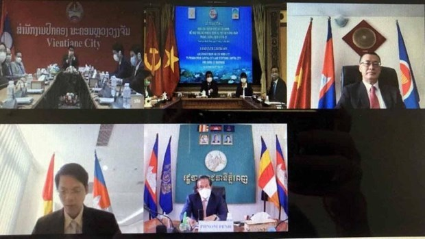 胡志明市协助老挝与柬埔寨首都抗击新冠肺炎疫情 hinh anh 1