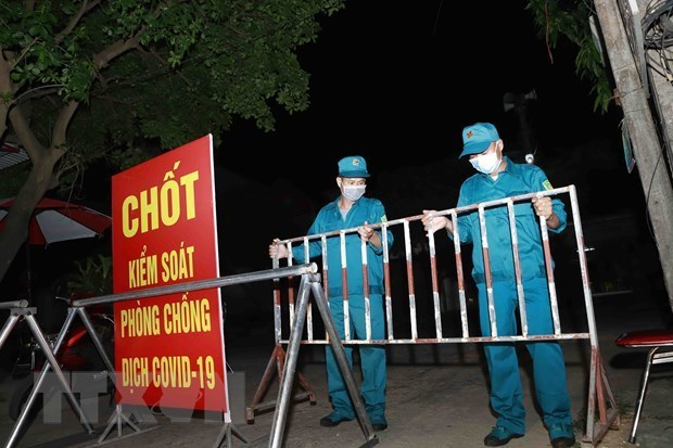 新冠肺炎疫情:永福省累计本土病例25例 谅山省发现2021年首例病例 hinh anh 1
