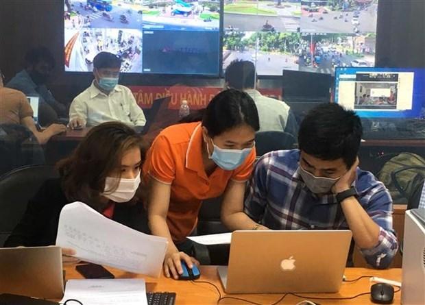 国会与人民议会代表选举:胡志明市试运行支持换届选举工作的软件 hinh anh 2