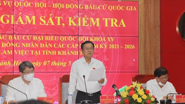 庆和省长沙岛县部分投票站将提前投票 hinh anh 2