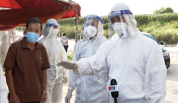 10日上午越南新增80例确诊病例 本土病例78例 hinh anh 1