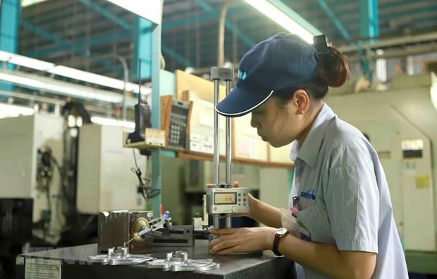 2021年4月份越南工业生产指数增长24% hinh anh 1