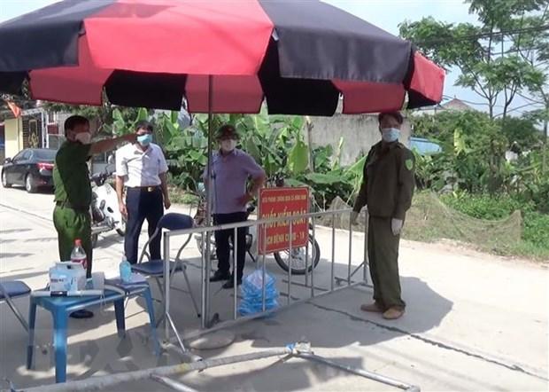 新冠疫情:和平、兴安等省部分地区自5月10日起实施社交距离措施 hinh anh 2