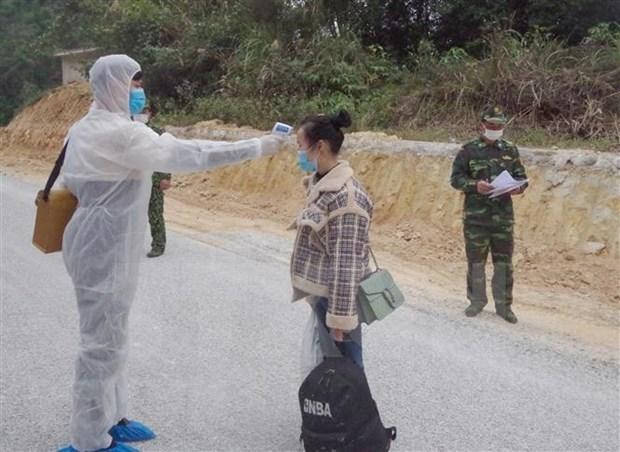 越南边防部队严厉打击非法入境 严防境外疫情输入 hinh anh 1