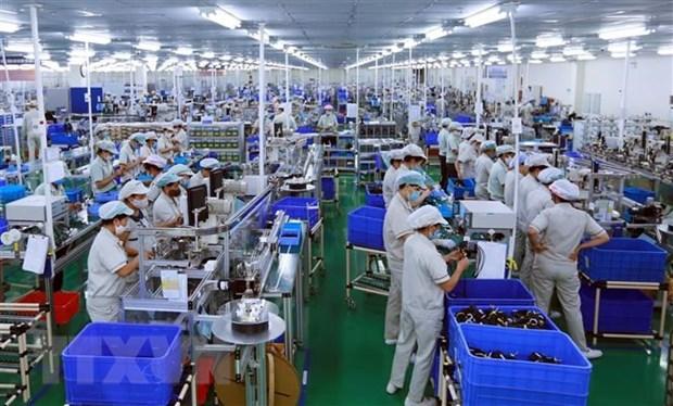 2021年4月份越南工业生产指数增长24% hinh anh 2