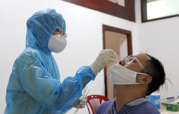 新冠肺炎疫情:15日中午越南新增18例确诊病例 hinh anh 1