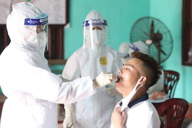 新冠肺炎疫情:15日早上越南新增病例20例 hinh anh 1