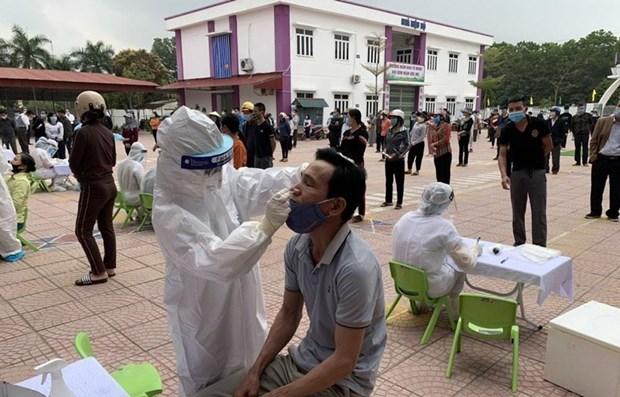 海阳省青年在抗击疫情的战场上挥洒青春热血 hinh anh 1