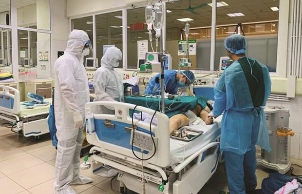 新冠肺炎疫情:越南出现第40例死亡病例 hinh anh 1