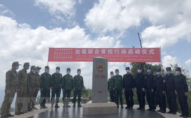 越南-中国-老挝维护边界力量举行交流会 hinh anh 3